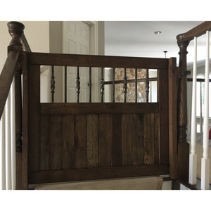 Tuscan Round Gate - Oak Grove Woodworks
