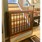 Wooden Baluster Gate - Oak Grove Woodworks