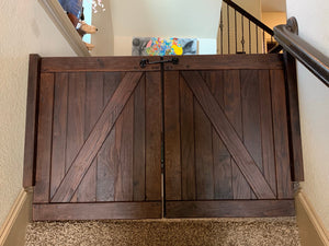 Saloon Barn Door - Oak Grove Woodworks