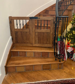 Double Door Tuscan Square Gate - Oak Grove Woodworks