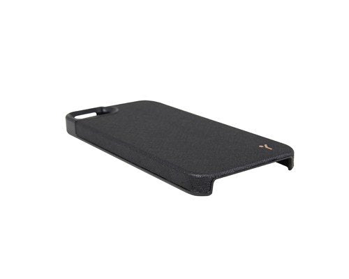The Joy Factory Royce Premium Synthetic Leather Hardshell Case for iPhone5/5S, CSD113 (Black)