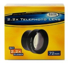 72MM High Definition 2.2x Telephoto Lens