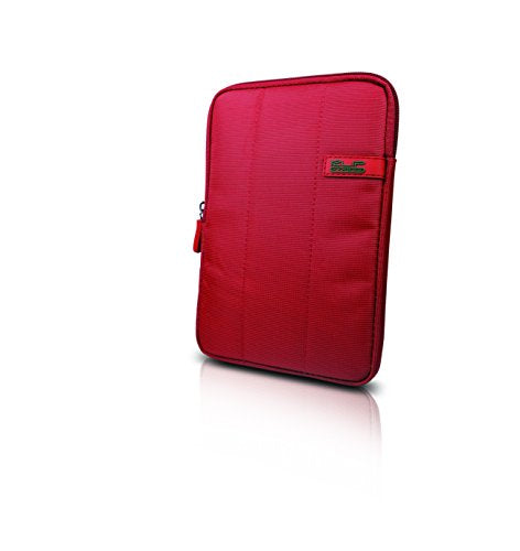 "Klip Xtreme Skudo 7"" Premium iPad/Tablet Sleeve with shock absorbing bubbles (Red)"
