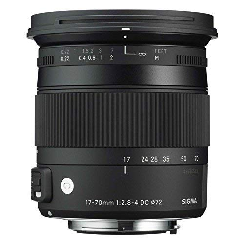 Sigma Contemporary 17-70mm F2.8-4 DC Macro OS HSM Lens - Nikon Mount - International Version (No Warranty)