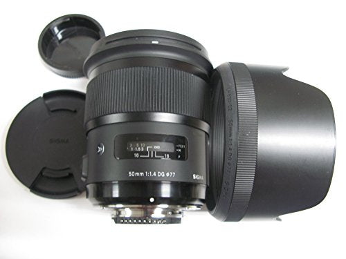 Sigma 50mm F1.4 DG HSM Art Lens for Nikon Cameras - Fixed - International Version