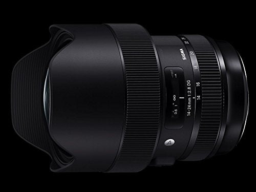 Sigma 14-24mm F2.8 DG HSM, Black (212954) for Canon
