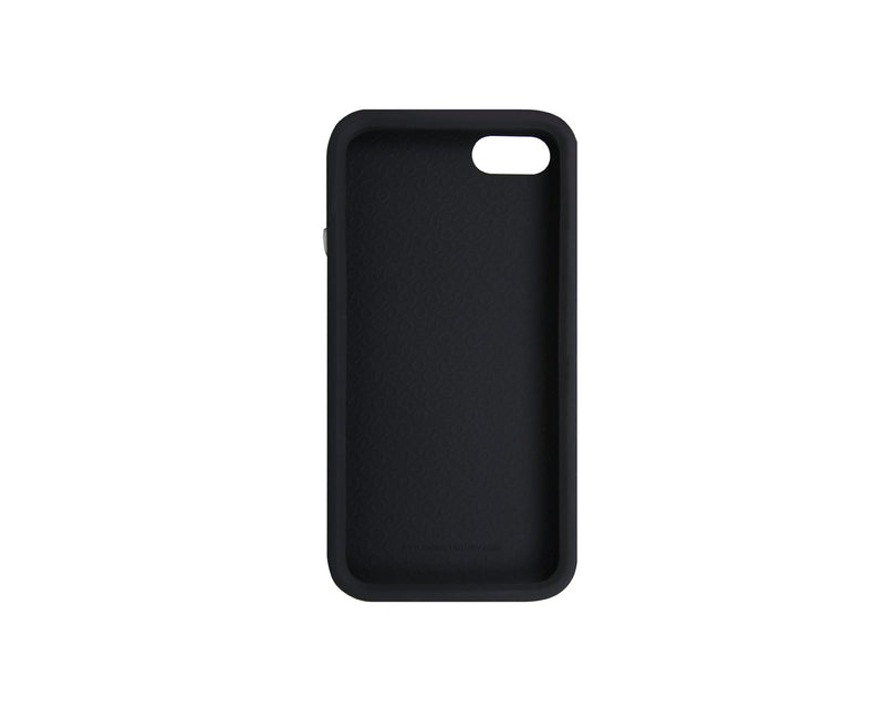 The Joy Factory Jugar Soft Silicone Case with Metal Frame for iPhone5/5S, CSD104 (Matte Black)