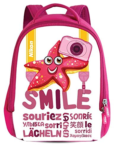 Nikon Kinder Rucksack/ Backpack for COOLPIX S33 Digital Camera (Pink)