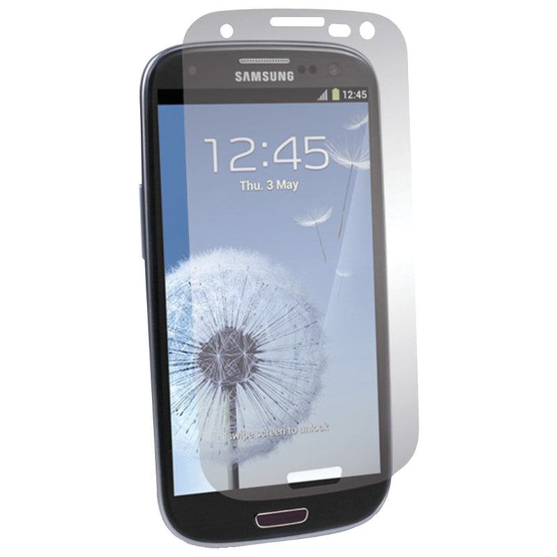 BodyGuardz BZ-USG3-0412F UltraTough Optically Clear Screen Protectors with Anti-Microbial-Gel/Dry Apply for Samsung Galaxy S3 III / S3 - 2 Pack