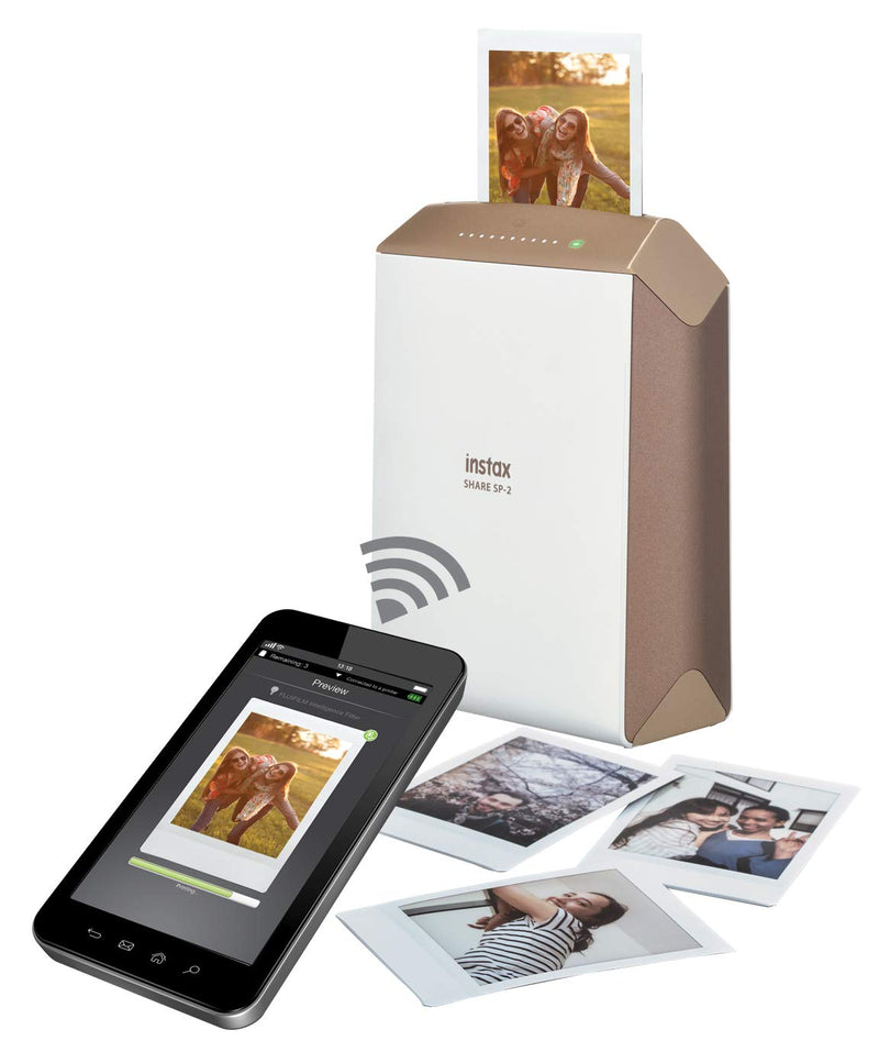 Fujifilm INSTAX Share SP-2 Mobile Printer (Gold)