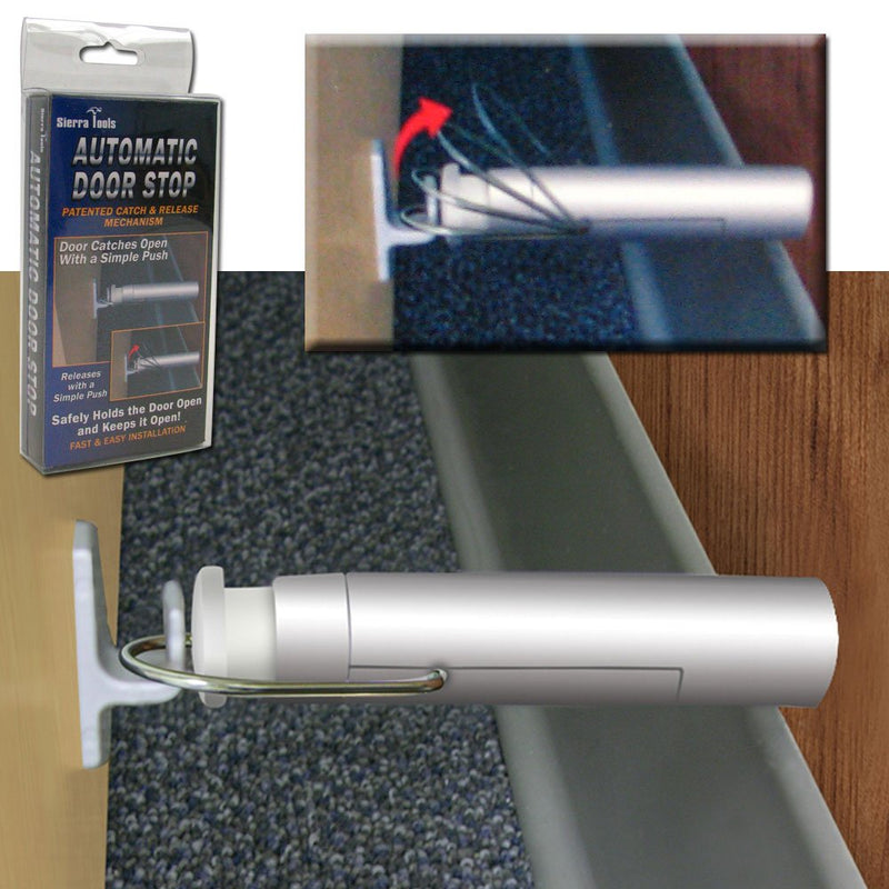 Sierra Tools 82-5351 Fast Installation Automatic Door Stop