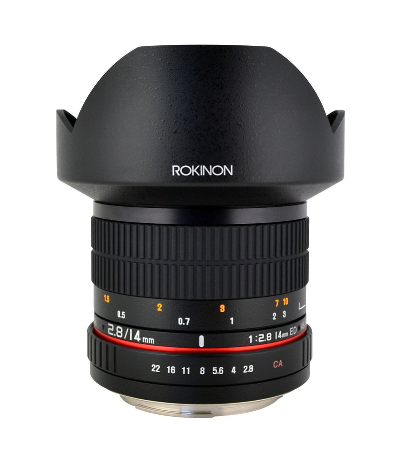 Rokinon 14mm F/2.8 Ultra Wide Angle Lens for Olympus 4/3