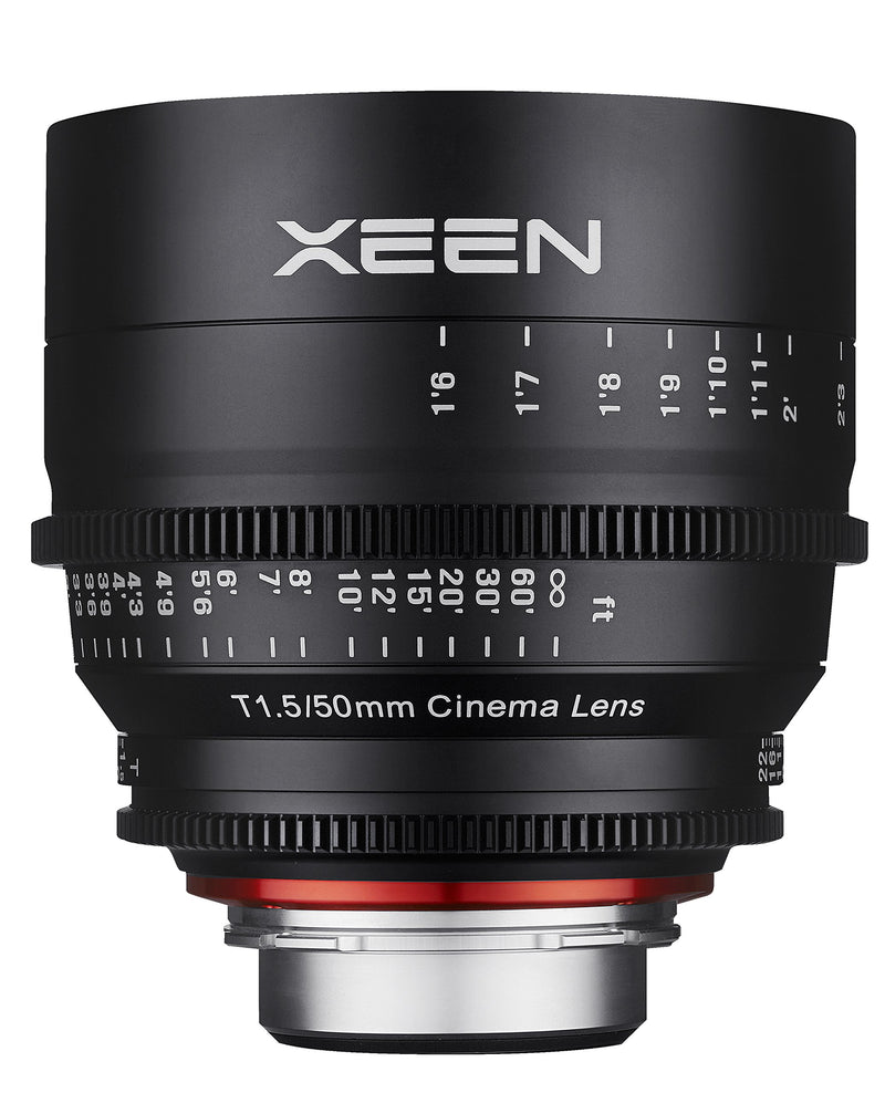 Rokinon Xeen XN50-PL 50mm T1.5 Professional CINE Lens for PL Mount