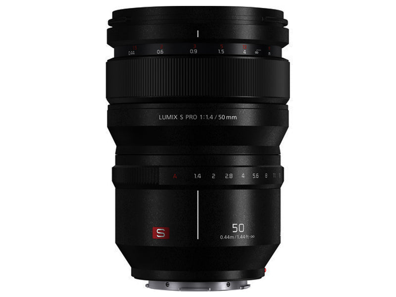 Panasonic Lumix S PRO 50mm f/1.4 Lens (International Model)