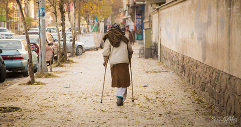 Disabled Afghans