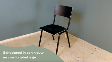 Zuiver Back to School stoel mat brown - Product video