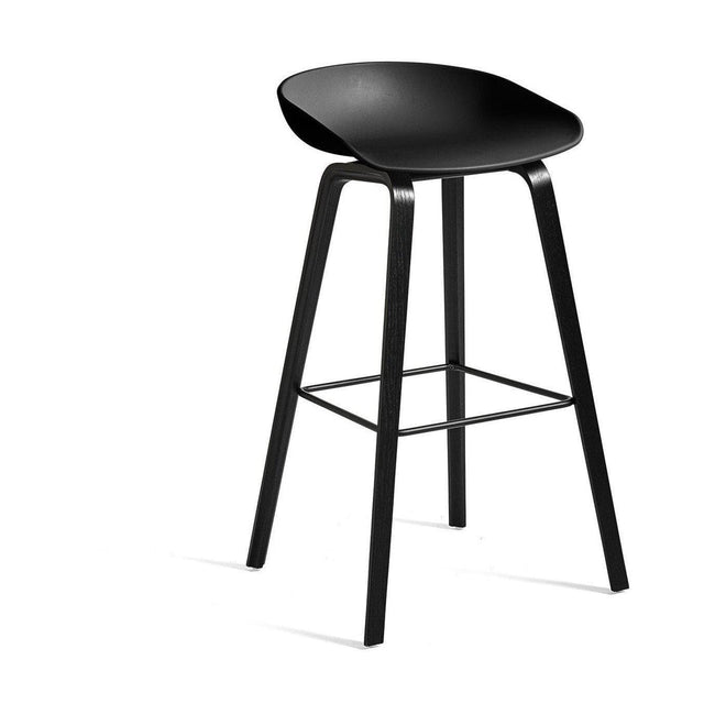 HAY About a Stool AAS 32 Barkruk H85 black