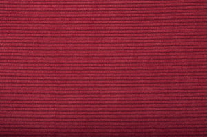 Zuiver Ridge brushed rib stoel red