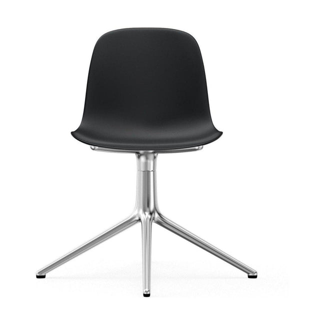 Normann Copenhagen Form Chair Swivel eetkamerstoel black