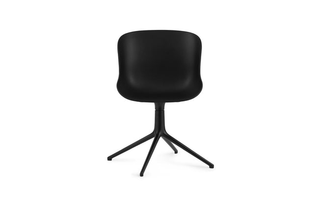 Normann Copenhagen Hyg Chair Swivel eetkamerstoel black