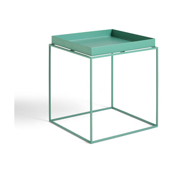 Tray bijzettafel peppermint green