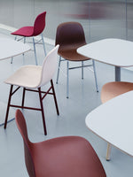 Normann Copenhagen Form Chair eetkamerstoel grey