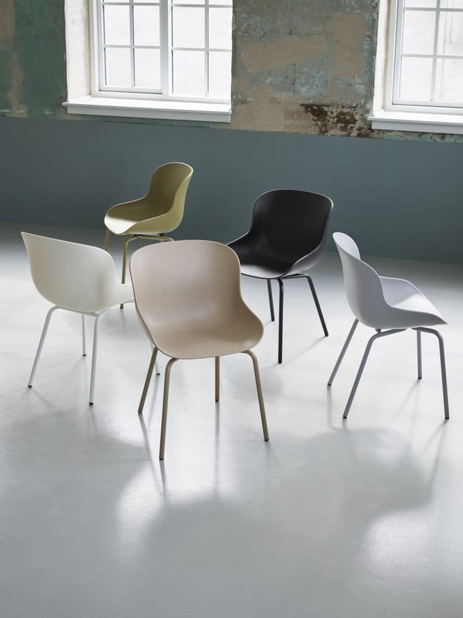 Normann Copenhagen Hyg Chair eetkamerstoel black - Normann Copenhagen Hyg Chair eetkamerstoel black