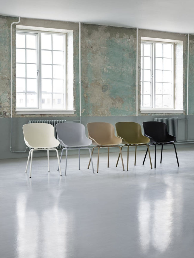 Normann Copenhagen Hyg Chair eetkamerstoel grey - Normann Copenhagen Hyg Chair eetkamerstoel grey