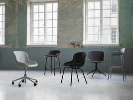 Normann Copenhagen Hyg Chair eetkamerstoel black