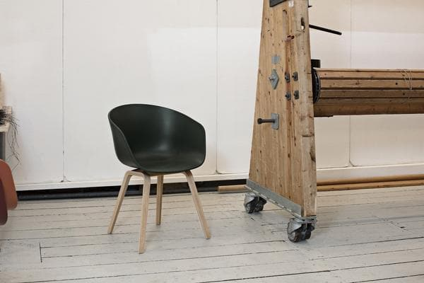 HAY About a Chair AAC 22 eetkamerstoel gezeept black