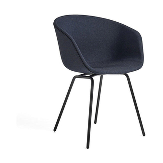 HAY About a Chair AAC 27 eetkamerstoel gestoffeerd blauw - HAY About a Chair AAC 27 eetkamerstoel gestoffeerd blauw