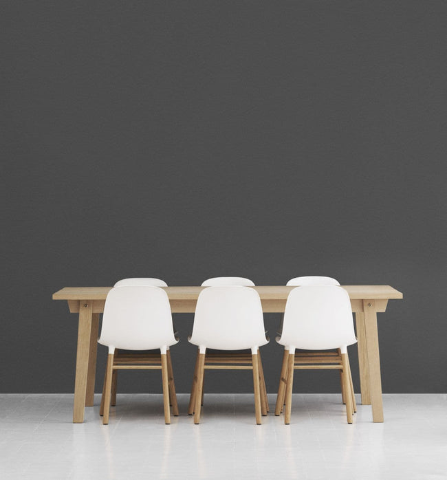 Normann Copenhagen Form Chair eetkamerstoel blue - Normann Copenhagen Form Chair eetkamerstoel blue
