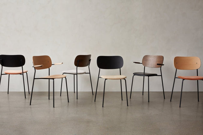 Menu Co Chair eetkamerstoel black oak