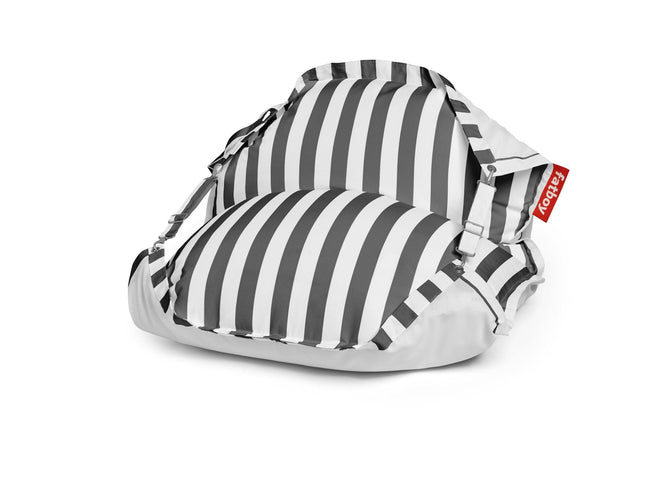 Fatboy The Original Floatzac zitzak stripe anthracite
