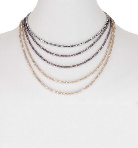New Delicate Ombre Necklace