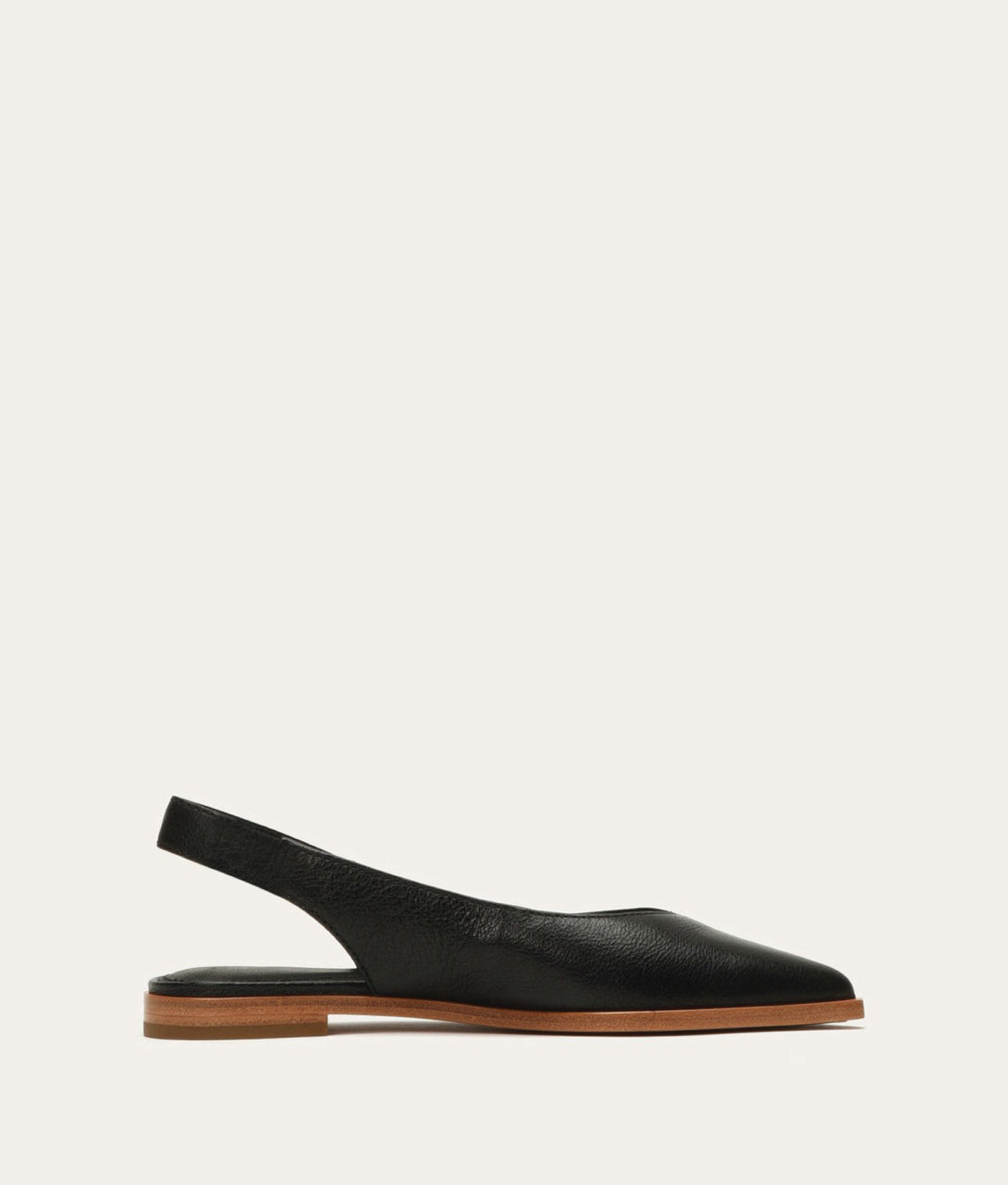 Kenzie Slingback in Black