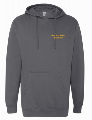 Garvies Point Brewery Pullover Hoodie - Charcoal