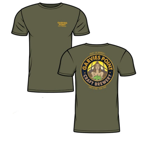 Short Sleeve T-Shirt Military Green