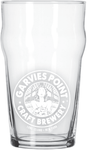 16oz Nonic Pint Glasses w/ Garvies Point Brewery Logo