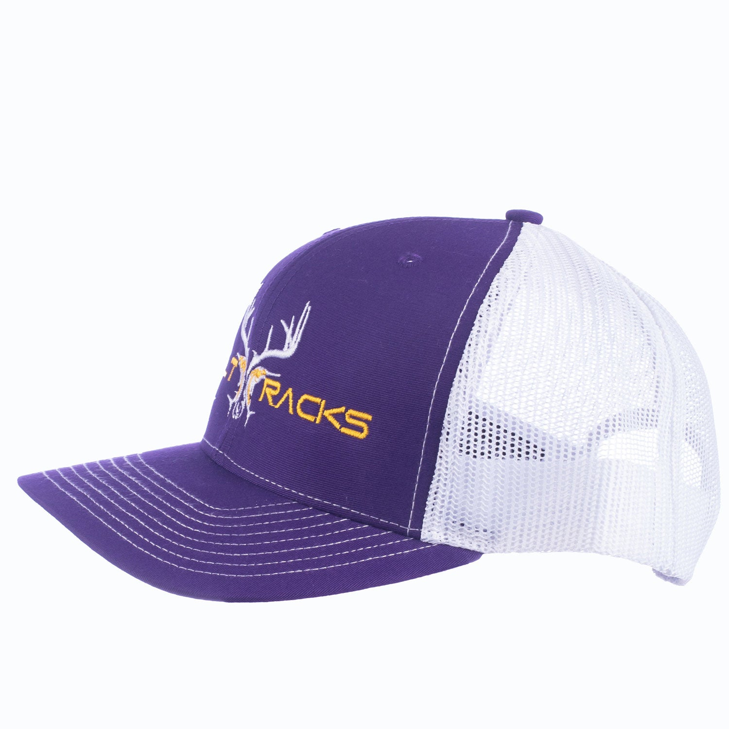 Purple/White Cap