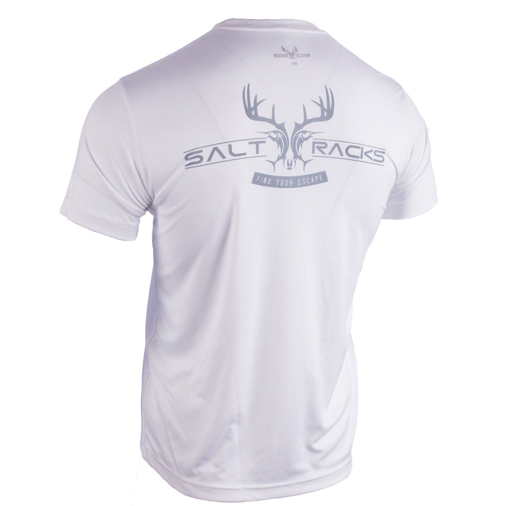 Short Sleeve Solid Short Sleeve Tees Salt Racks
