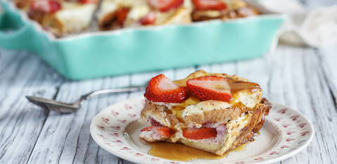 Cinnamon Baked French Toast Casserole