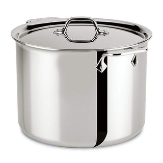 All-Clad Stockpots & Soup Pots 12 Qt. All-Clad Stainless Stockpot with Lid JL-Hufford