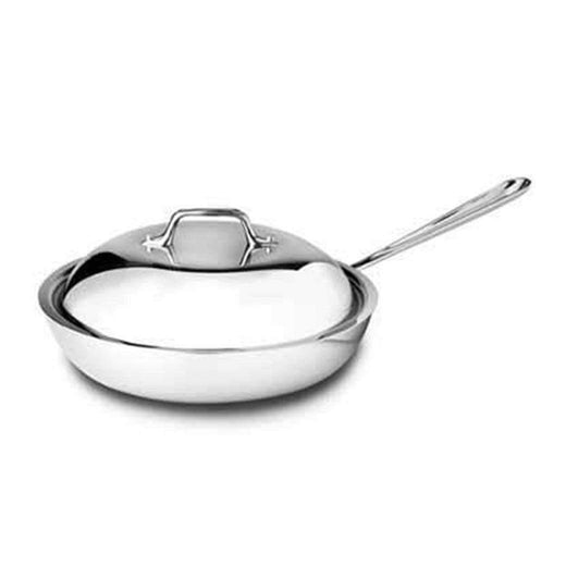"All-Clad Skillets & Frying Pans 9"" with Lid All-Clad Stainless French Skillet JL-Hufford"