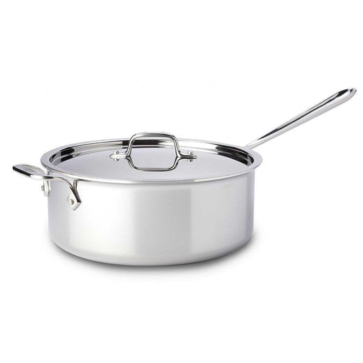 All-Clad Saute & Sauteuse Pans All-Clad Stainless 6 qt Deep Saute Pan JL-Hufford