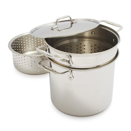 All-Clad Specialty Cookware All-Clad Stainless Steel 8 qt Multi Cooker JL-Hufford