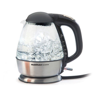 Chefs Choice Electric Tea Kettles Chef's Choice Electric Glass Kettle 680 JL-Hufford