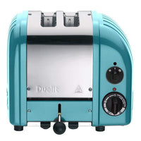 Dualit Toasters & Ovens Azure Blue Dualit New Generation 2-Slice Toaster in Fashion Colors JL-Hufford