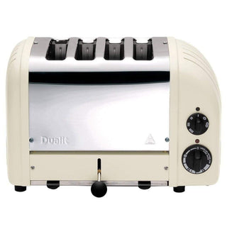 Dualit Toasters & Ovens Canvas White Dualit New Generation 4-Slice Toaster in Fashion Colors JL-Hufford
