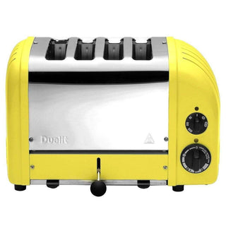Dualit Toasters & Ovens Citrus Yellow Dualit New Generation 4-Slice Toaster in Fashion Colors JL-Hufford